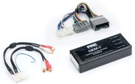 PAC AOEM-CHR3 System Interface Kit to Add or Replace An Amplifier in on alpine subwoofer wiring diagram, pioneer car stereo wiring harness diagram, speaker wiring colors diagram, multi room speaker wiring diagram, car amplifier wiring diagram, sony car stereo color wiring diagram,
