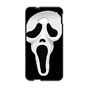 HTC One M7 Black Scream phone case Christmas Gifts&Gift Attractive Phone Case HRN5C321514