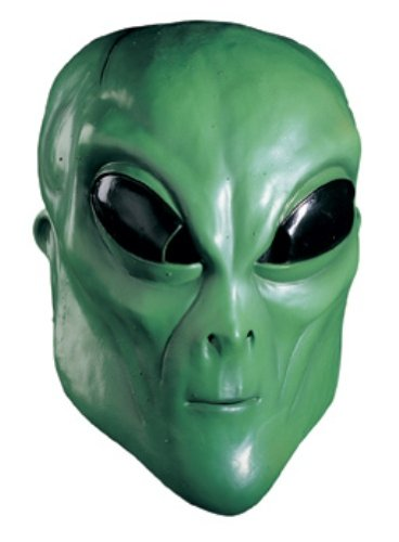 Rubie's Alien Overhead Mask, Green, One Size ()