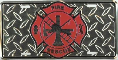 Fire Rescue License Plate ()