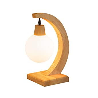 Led Original Bois Table Bureau E27 Lampe De Design En bgf76Yyv