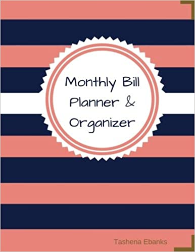 Monthly Bill Planner And Organizer Budget Planning Journal XLarge