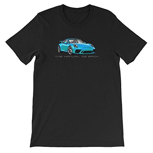 Porsche Shift 911 (Shift Shirts Back To Basics - Porsche 911 GT3 (991.2) Inspired Unisex T-Shirt)