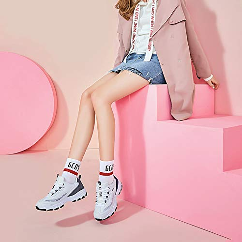 Zapatos Casual Mujer Shoes Sneakers Harajuku De Mujer Blanco Super Otoño Negro Sports Blanco Fire Plana Mujer Shoe rUTrxgwq