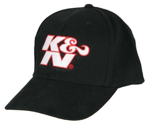 Racing Baseball Hat Cap (K&N 88-12068 Black Hat with Racing Logo)