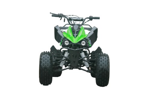 125cc Sports ATV 8'' Tires with Reverse, Green by Coolster (Image #2)