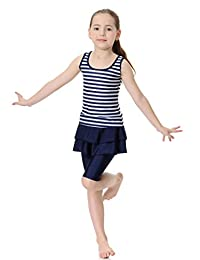 GladThink Girls Muslim 2-Pieces Swimsuit
