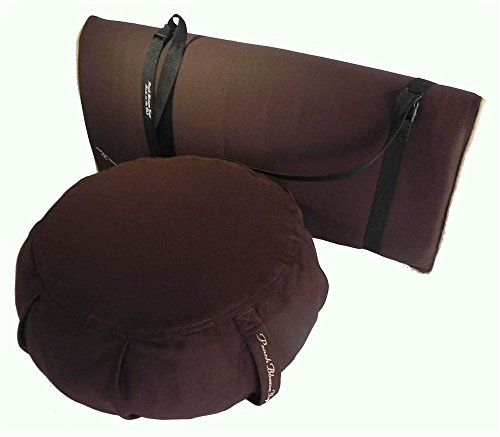 3-pc Yoga Studio Set in Mocha by Peach Blossom Yoga