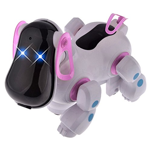 At-at Costume For Dog (Smart Robot Electronic Walking Pet Patrol Dog Puppy Toys with Music Light for Children Kids)