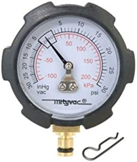 MXBAOHENG High Pressure 40Mpa//6000PSI Pressure Gauge with M10X1 for PCP Hand Pump