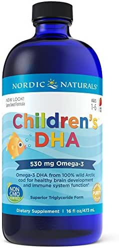 Nordic Naturals - Children's DHA, Healthy Cognitive Development and Immune Function, 16 Fl Oz