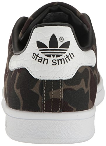 Sneaker Adidas Mens Stan Smith Fashion Nero / Bianco / Nero 1