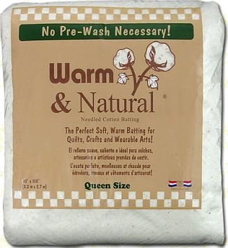 (Warm & Natural Cotton Batting-Craft Size 34