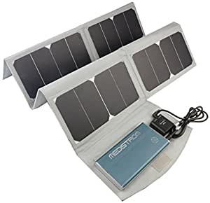 Medistrom Pilot-24 Lite CPAP Battery for ResMed AirMini and Airsense 10 and 50W Solar Panel Kit