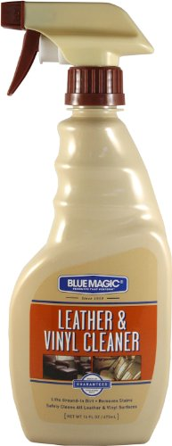 Blue Magic 800-06PK Leather and Vinyl Cleaner-16 fl. oz, (Pack of 6), 16. Fluid_Ounces, 6 Pack