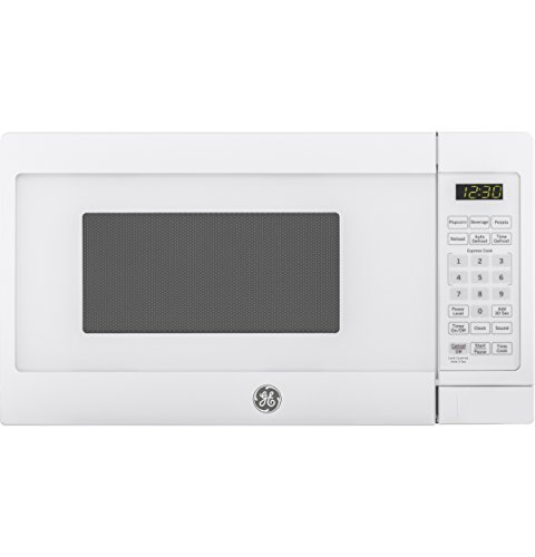 GE Appliances JES1072DMWW Countertop Microwave, 0.7 Cu Ft, White