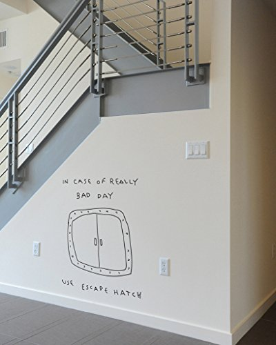 BLIK Surface Graphics Escape Hatch wall decal - Blik Wall Decals