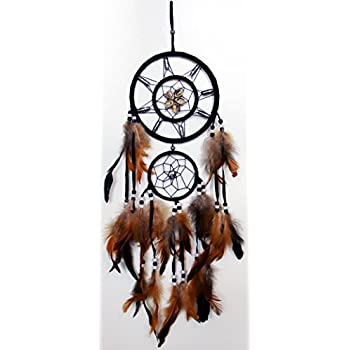 Amazon Dream Catcher Wall Hanging With Beads Shells Feathers Simple What Do The Beads Mean On A Dream Catcher