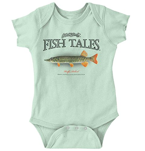 Brisco Brands Redfin Pickerel Fish Sporting Goods Cool Graphic Fishing Onesie Bodysuit