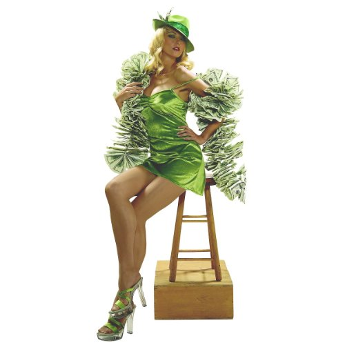 Womens Million Dollar Costume included