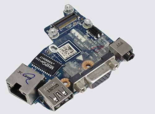 Dell Latitude E6430 51WP9 Audio Ethernet USB VGA Modem Board LS-7781P