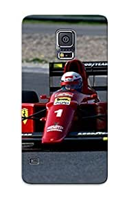 Crazylove BAtvmL-696-TLHzj Protective Case For Galaxy S5(1990 Ferrari 641 Formula Onerace Racing) - Nice Gift For Lovers