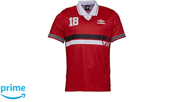 UMBRO Project Rusia - Polo para Hombre, Color Rojo, Rojo/Multi ...