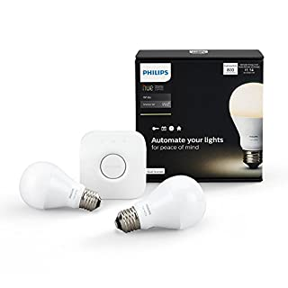 Hue White A19 Starter Kit (Compatible with Amazon Alexa, Apple Home Kit and Google Assistant) (B01BGJN780) | Amazon Products