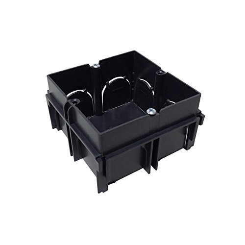Wolfpack 19030700 Caja de empotrar, 1 Elemento enlazable, 65 x 65 x 40 mm A Forged Tool SA