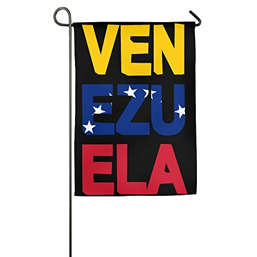 LLiYing-D Distressed Venezuela Flag Printed Celebration Flag ()
