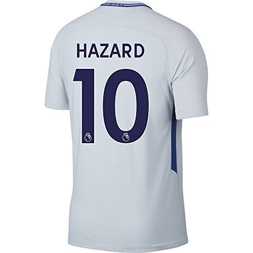 8f9a8bacef7 Chelsea Away Hazard Stadium Jersey 2017 / 2018 (Authentic EPL Printing) - L