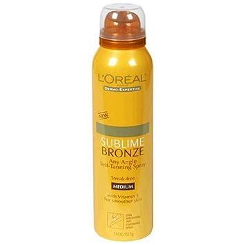 loreal sublime bronze spray
