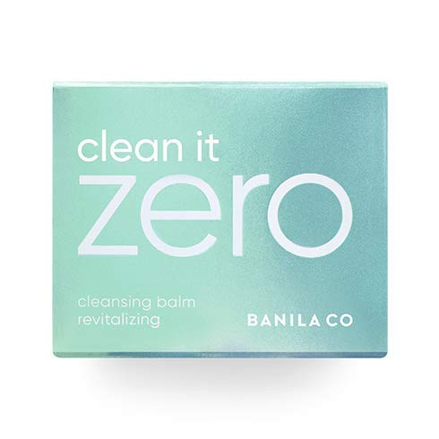 BANILA CO Clean It Zero Revitalizing Cleansing Balm Makeup Remover, Balm to Oil, Double Cleanse, Face Wash, 100ml