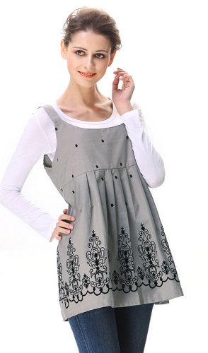 Anti-Radiation Maternity Clothes Tank Protection Shield Dresses 8900806