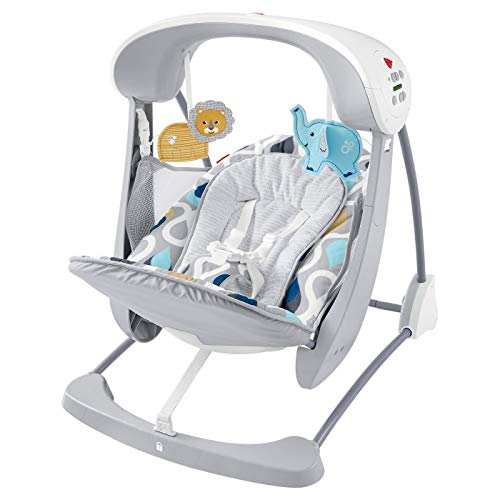 Fisher-Price Deluxe Take-Along Swing & Seat - Joyful Drops FLG91