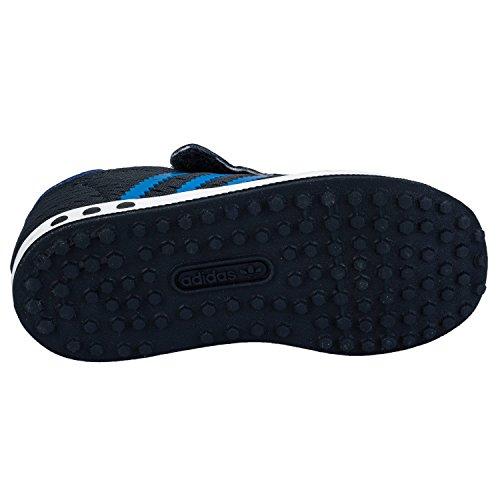 Adidas - Adidas La Trainer Em Cf I Scarpe Sportive Bambino/a Blu Tela S78986 - Azul, 21