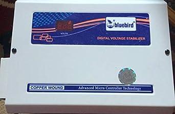 Bluebird 4kva 150 280v Copper Wounded Digital Voltage Stabliser for 1AirConditioner Upto 1.5 ton BA415Copper