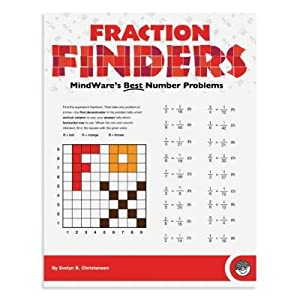 Paperback MindWare Fraction Finders Workbook Book