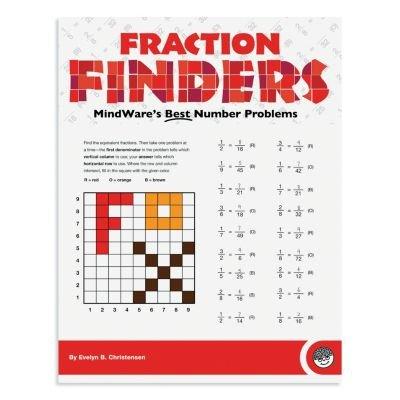 MindWare Fraction Finders Workbook