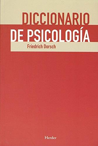 Descargar Libro Diccionario De Psicología Friedrich Dorsch
