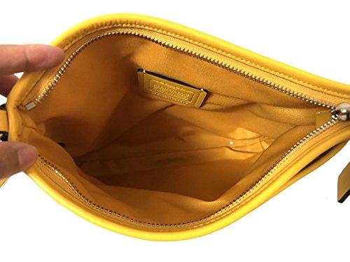 Crossbody Canary Signature Khaki Light Coach Zip File Bag wfP8WtqB