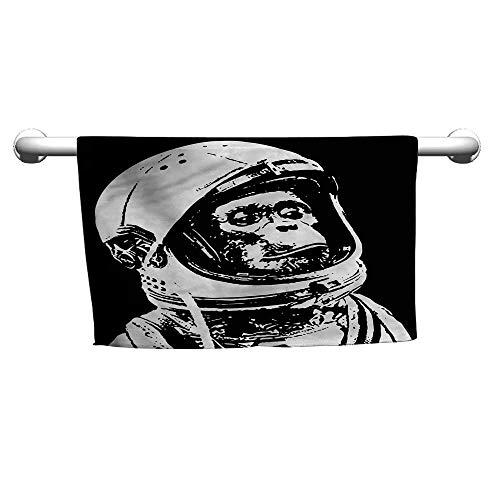 alisoso Outer Space,Microfiber Kids Towel Chimpanzee in Costume W 24