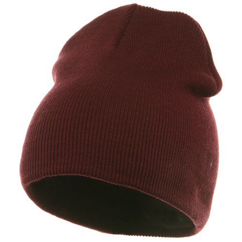 - Superior Cotton Knit Cap-Maroon
