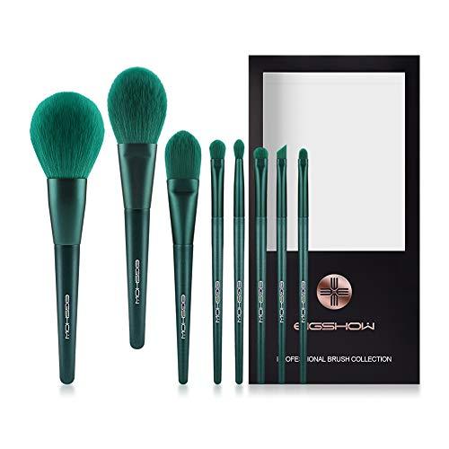 Makeup Brushes, Eigshow Premium Makeup Brush Set Synthetic Cosmetics Foundation Powder Concealers Blending Eye Shadows…