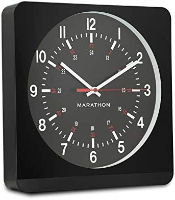 Marathon 12 Inch Analog Wall Clock