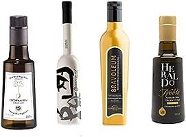3.- Pack gourmet de 4 aceites oliva virgen extra de 250 ml cada ...