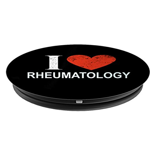I Love Rheumatology - Rheumatologist - PopSockets Grip and Stand for Phones and Tablets