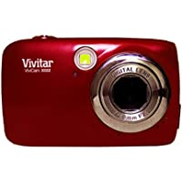 Vivitar X022 10.1MP Digital Camera 4x Zoom - Royal Red - New - Retail Packaging