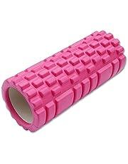 RUNakan Holle Yoga Kolom Lichaam Relax Massage Foam Rollers Fitness Oefening Apparatuur Roze