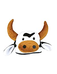 Beistle 60791 Plush Cow Head Hat